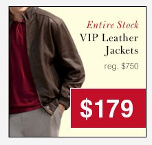 VIP Leather Jackets - $179 USD