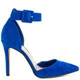 Cayna - Cobalt Blue Suede