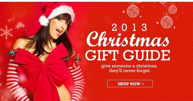 2013 CHRISTMAS GIFT GUIDE