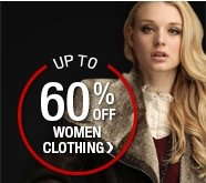 Up to 60% Off Women Clothing