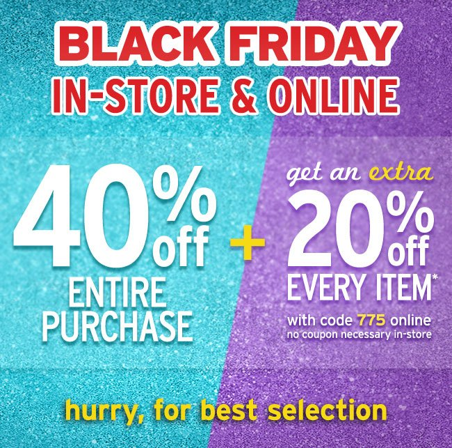 Hurry for best Black Friday selections