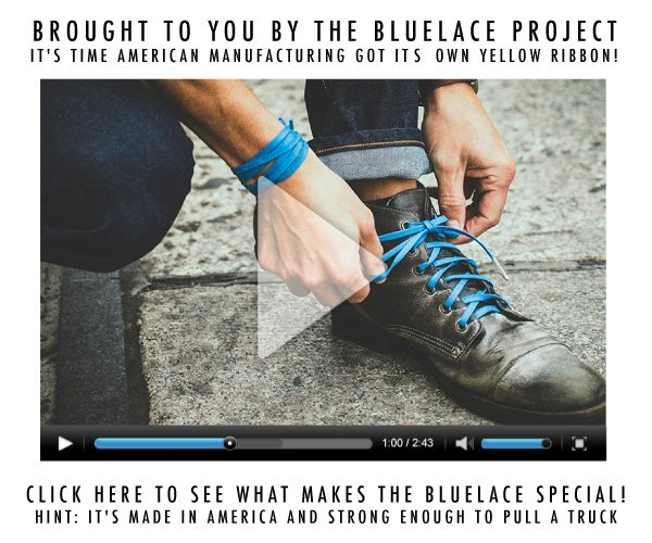 Brought to you by the Bluelace Project! Click Here to learn more.