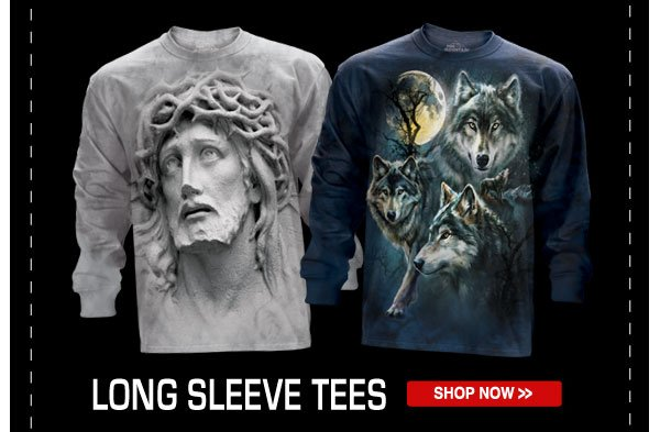 Shop our Long Sleeve Tees Collection