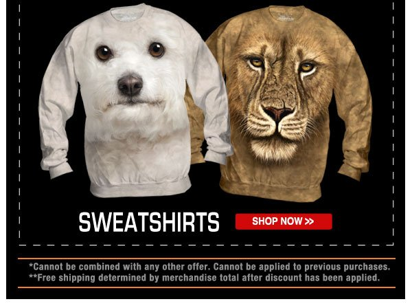 Shop our Sweatshirts now