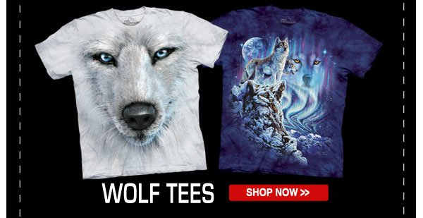 Shop our Wolf Tees Collection