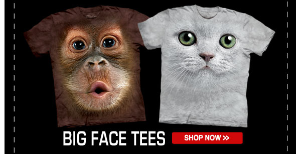 Shop our Big Face Tee Collection