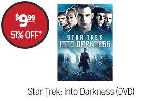 Star Trek: Into Darkness (DVD) - $9.99 - 51% off‡