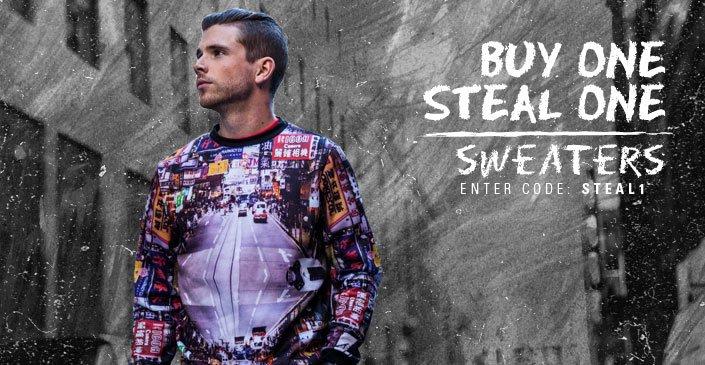 Buy One, Steal One: Sweatshirts