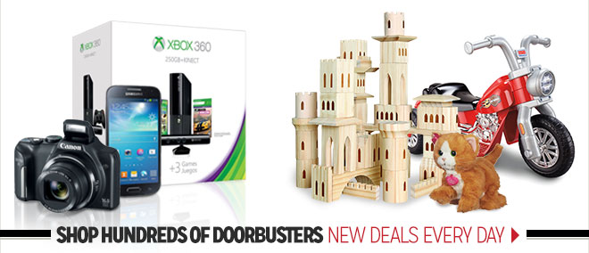 - Shop Hundreds of Doorbusters - New Deals Every Day