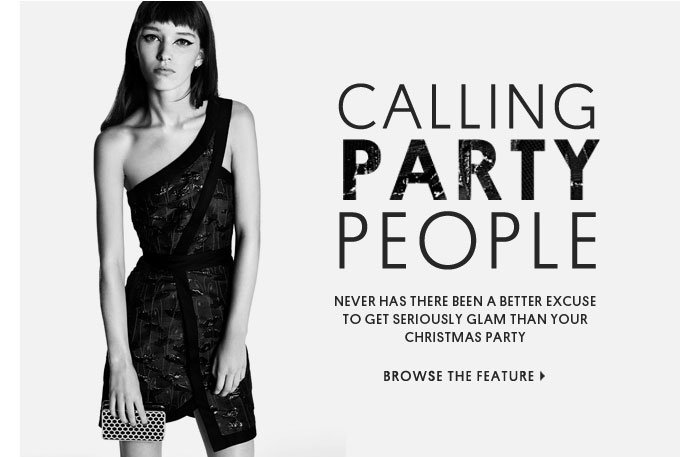 CALLING PARTY PEOPLE - Browse The Feature