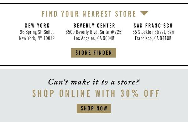 Store Finder | Shop Now