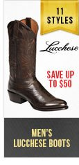 Mens Lucchese Boots
