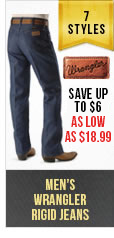 Mens Wrangler Rigid Jeans