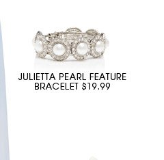 Julietta Pearl Feature Bracelet
