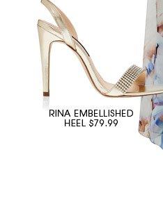 Rina Embellished Heel