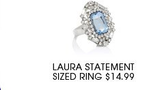 Laura Statement Sized Ring