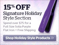 15% Off Signature Holiday Style Products