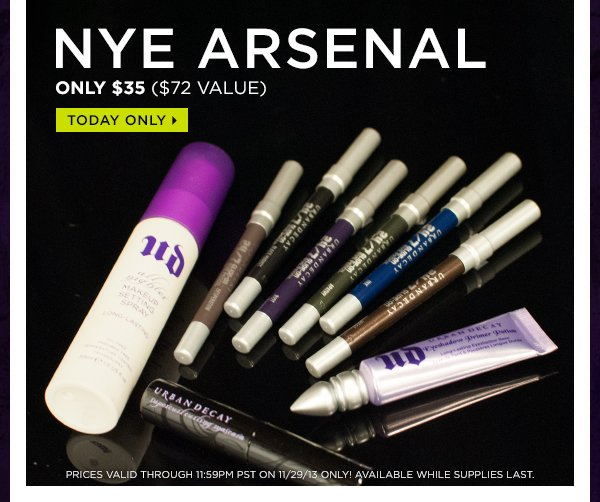 NYE Arsenal, only $35 ($72 value). Today only >