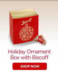 Holiday Ornament Box with Biscoff