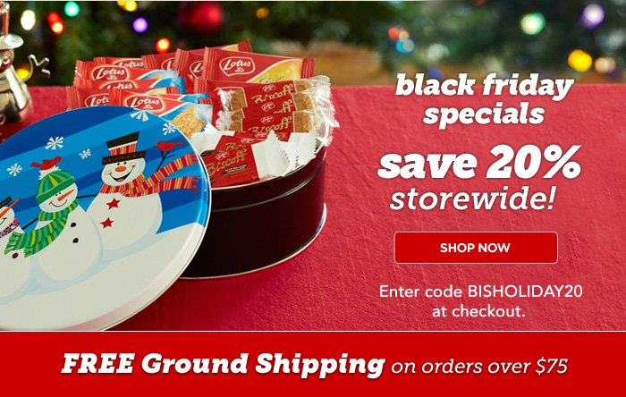 Only a few days left for 10% Off Storewide with code BISTHANKS10 at checkout. FREE SHIPPING on all orders over $75!