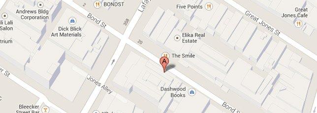 UN Store, Bond Street   Google Map