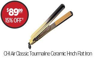 CHI Air Classic Tourmaline Ceramic 1-Inch Flat Iron - $89.99 - 15% off‡