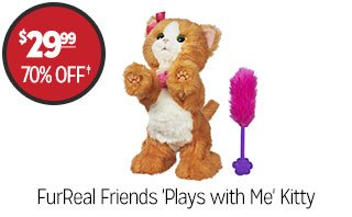 FurReal Friends 'Plays with Me' Kitty - $29.99 - 70% off‡