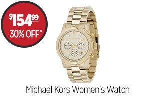 Michael Kors Women's Watch  - $154.99 - 30% off‡