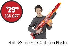 Nerf N-Strike Elite Centurion Blaster - $29.99 - 45% off‡