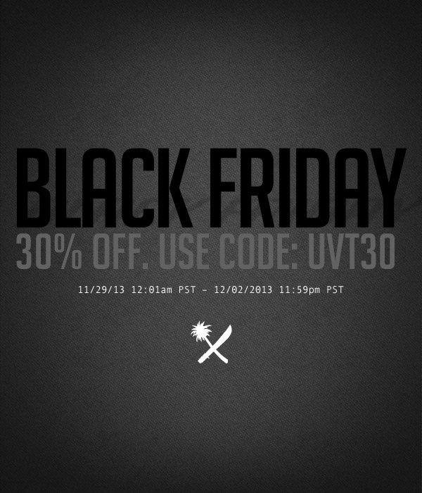 US VERSUS THEM Black Friday Sale!