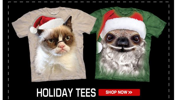 Shop our Holiday Tees