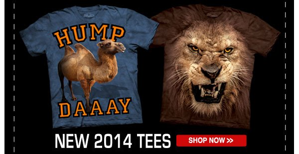Shop our New 2014 Tees