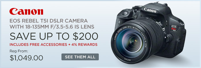 Adorama - Canon EOS Rebel T5I