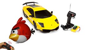 Remote Control Cars and Helicopters (Great Gifts)