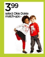 3.99 select Okie Dokie match-ups›
