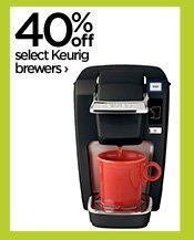 40% off select Keurig brewers›