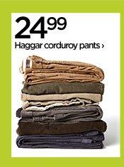 24.99 Haggar corduroy pants ›