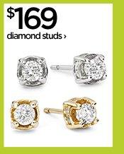 $169 diamond studs›