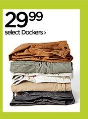 29.99 select Dockers›
