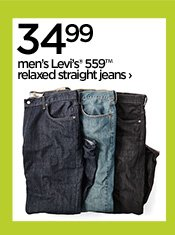 34.99 men's Levi's® 559™ relaxed straight  jeans›