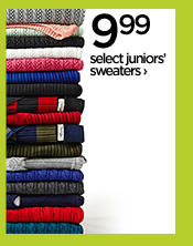 9.99 select juniors' sweaters›