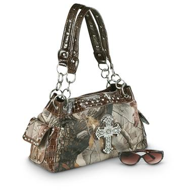 Women's Realtree® Purse with Cross Bling