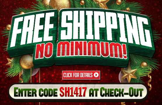 Sportsman's Guide's Free Standard Shipping on Your Merchandise Order - No Minimum Order! Please enter Coupon Code SH1417 at Checkout. Offer ends Monday, 12/2/2013.