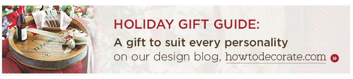 Holiday Gift Guide: A gift to suit every personality. Read our blog