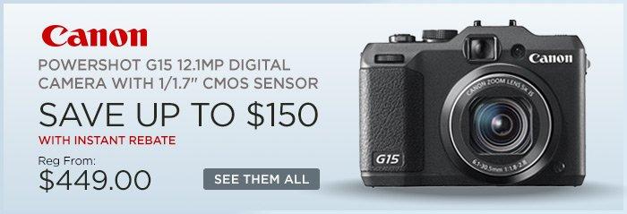 Adorama - Canon Powershot G15