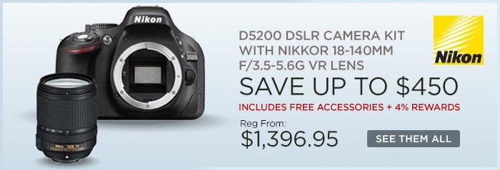 Adorama - Nikon D5200 DSLR