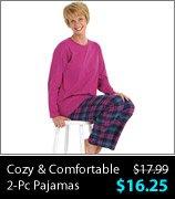 Cozy & Comfortable 2-Pc Pajamas