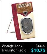 Vintage-Look Transistor Radio