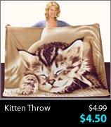 Kitten Throw