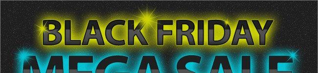 Black Friday Mega Sale! Shop Now, Sale Ends December 10th